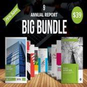 قالب گزارش سالانه Big Bundle Annual Report-1