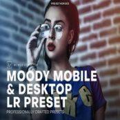پریست لایتروم Moody Mobile and Desktop Lightroom