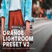 پریست لایتروم PH Orange Lightroom Presets V2