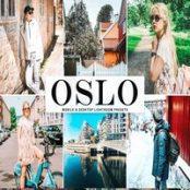 دانلود پک پریست لایتروم  Oslo Lightroom Presets Pack