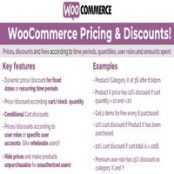 افزونه WooCommerce Pricing & Discounts