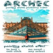 اکشن فتوشاپ Archec – Painting Sketch Photoshop Action