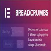 افزونه Breadcrumbs برای المنتور