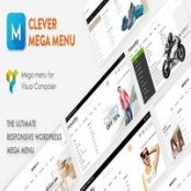 افزونه Clever Mega Menu برای WPBakery Page Builder