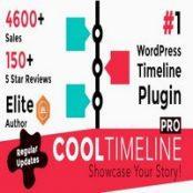 افزونه Cool Timeline Pro برای وردپرس