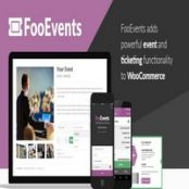 افزونه FooEvents برای ووکامرس همراه با افزودنی ها