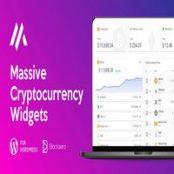 افزونه Massive Cryptocurrency Widgets برای وردپرس
