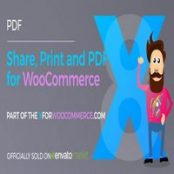 افزونه Share, Print and PDF Products for WooCommerce