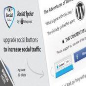 افزونه Social Locker برای وردپرس