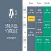 افزونه Timetable برای وردپرس