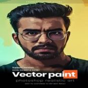 اکشن فتوشاپ Vector Paint