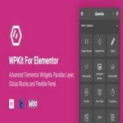 افزونه WPKit برای المنتور