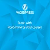 افزونه Sensei به همراه WooCommerce Paid Courses