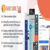 افزونه Easy Side Tab Pro برای وردپرس