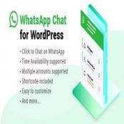 افزونه WhatsApp Chat برای وردپرس