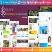 افزونه فارسی پروفایل کاربری Youzer برای وردپرس همراه با ادآن های youzer