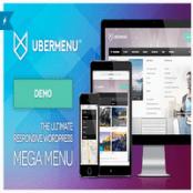 افزونه UberMenu – ایجاد مگامنو در وردپرس