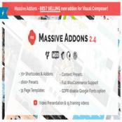 افزونه Massive Addons برای WPBakery Page Builder (ویژوال کامپوزر)
