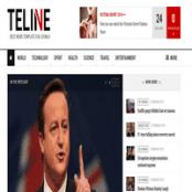 قالب خبری JA Teline V برای جوملا