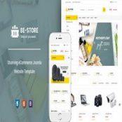 قالب BeStore راست چین برای جوملا
