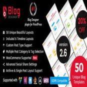 افزونه Blog Designer PRO for WordPress