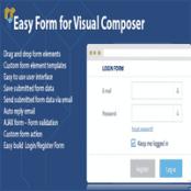 افزونه DHVC Form برای WPBakery Page Builder