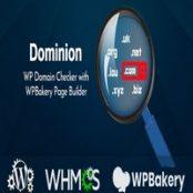 افزونه Dominion – افزونه جستجو دامنه وردپرس