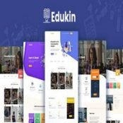 قالب Edukin – Education HTML Template