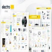 قالب HTML فروشگاهی Electro