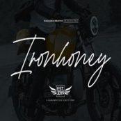 فونت انگلیسی Ironhoney Signature Font