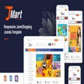 قالب فروشگاهی JMart راست چین برای جوملا