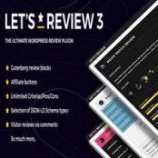 افزونه Let's Review برای وردپرس