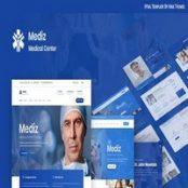 قالب HTML پزشکی Mediz