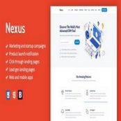 قالب HTML لندینگ Nexus