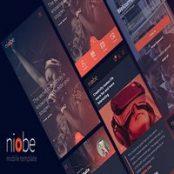 قالب Niobe HTML Mobile Template