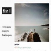 قالب Nish II برای جوملا