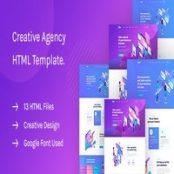 قالب HTML شرکتی Saku
