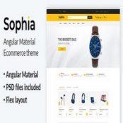 قالب Angular فروشگاهی Sophia