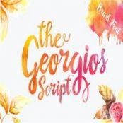 فونت انگلیسی The Georgios