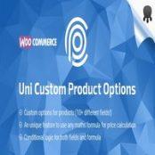افزونه Uni Custom Product Options برای وردپرس