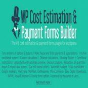 افزونه WP Cost Estimation & Payment Forms Builder