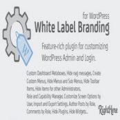 افزونه White Label Branding برای وردپرس