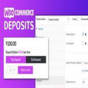 افزونه WooCommerce Deposits برای وردپرس