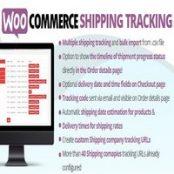 افزونه WooCommerce Shipping Tracking