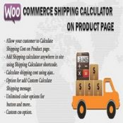 افزونه Woocommerce Shipping Calculator On Product Page