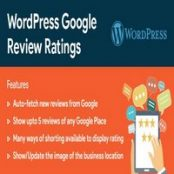 افزونه WordPress Google Reviews & Ratings