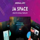 قالب JA Space برای جوملا