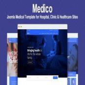 قالب Medico – قالب پزشکی جوملا