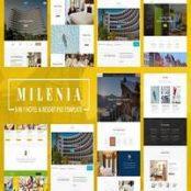 قالب Milenia – Hotel & Resort PSD Template