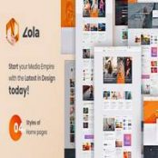 قالب Zola-Concept Magazine News Blogs PSD Template